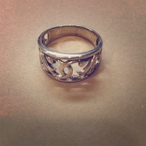 Jewelry - Sterling Silver Arabesque Design Ring
